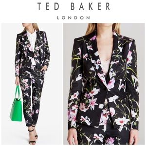 "Ted Baker ""Onix"" mirrored tropics blazer 3 (US 8)"